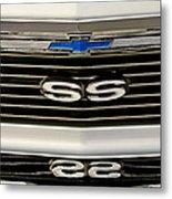 1971 Chevrolet Nova Ss350 Grille Emblem Metal Print