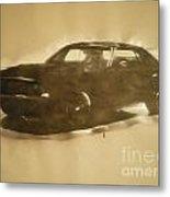 1971-dodge-challenger-rt Metal Print