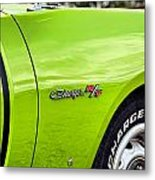 1971 Dodge Charger Rt  Metal Print
