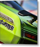 1971 Plymouth Duster Twister Metal Print