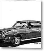 1971 Pontiac G T O Metal Print