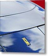 1972 Ferrari 365 Gtb 6c Emblem  Metal Print