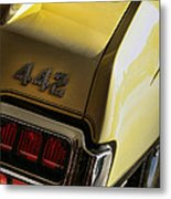 1972 Oldsmobile 442 Metal Print