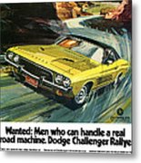 1973 Dodge Challenger Rallye Metal Print