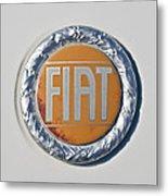 1977 Fiat 124 Spider Emblem Metal Print