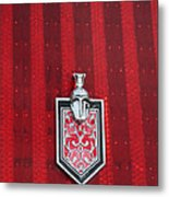 1988 Monte Carlo Ss Crest And Shield Emblem Metal Print