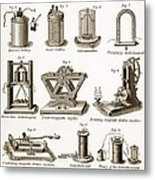 19th Century Electrical Equipment Metal Print