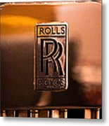 1937 Rolls-royce P-iii Saloon Hooper Metal Print