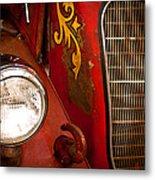 1941 Hahn Open Cab Fire Engine Metal Print