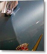 1955 Cadillac Eldorado 2 Door Convertible Metal Print by David Patterson