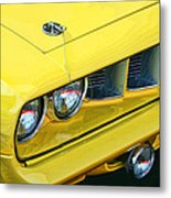 1971 Plymouth Cuda 440 Metal Print