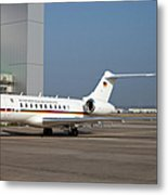 A Bombardier Global 5000 Vip Jet Metal Print