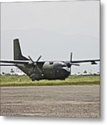 A German Air Force Transall C-160 Taxis Metal Print