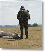 A Member Of The Pathfinder Platoon Metal Print