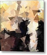 Abstract Gothic Metal Print