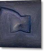 Abstract Ice Metal Print