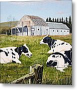 Afternoon In The Pasture Metal Print