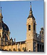 Almudena Cathedral In Madrid Metal Print