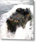 An Amphibious Assault Vehicle Metal Print