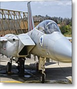 An F-15c Eagle Baz Aircraft Metal Print