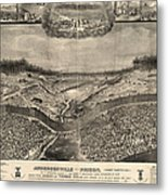 Andersonville Prison, 1864 Metal Print