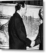 Andre Malraux (1901-1976) Metal Print