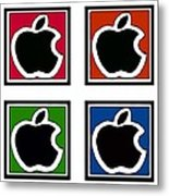 Apple Colors Metal Print