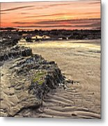 Ardrossan Sunset Metal Print