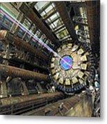 Atlas Detector, Cern Metal Print by David Parker