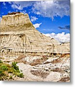 Badlands In Alberta Metal Print