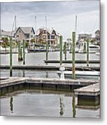 Bald Head Island Marina  Metal Print