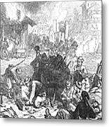 Balkan Insurgency, 1876 Metal Print