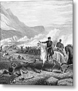 Battle Of Buena Vista, 1847 Metal Print by Granger