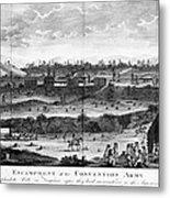 Battle Of Saratoga, 1777 Metal Print