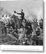 Battle Of Spotsylvania Metal Print