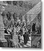 Belshazzars Feast Metal Print by Granger