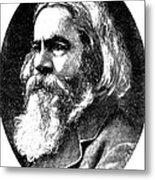 Benjamin Peirce, American Mathematician Metal Print