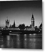 Big Ben And The Houses Of Parliament  Metal Print