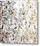 Birch Twigs In Autumn - Multiple Layers Metal Print