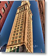 Boston Custom House Metal Print