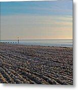 Bournemouth Beach Metal Print