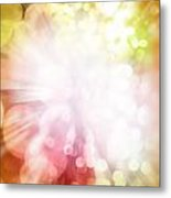 Bright Background Metal Print