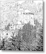 Burg Reifenstein Sterzing Italy Metal Print