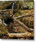 Buttermilk Falls Metal Print by Mike Horvath