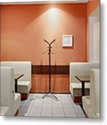 Cafe Dining Room Metal Print