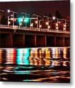 Champlain Bridge Metal Print