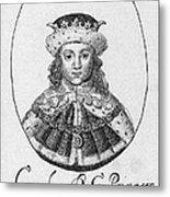 Charles I (1600-1649) Metal Print