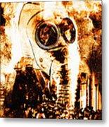 Chemical Warfare Metal Print by Mehau Kulyk