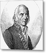 Chevalier De Lamarck Metal Print