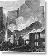 Chicago: Fire, 1871 Metal Print